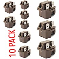 IC-4 Universal Freezer Refrigerator compressor PTC Start relay 10 pack