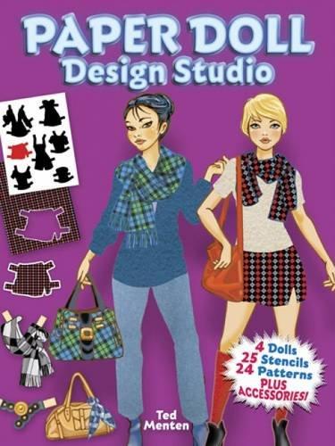 Paper Doll Design Studio (Dover Paper Dolls) (Own Your Make Paper Dolls)