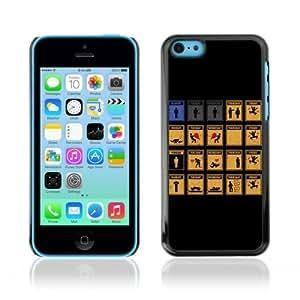 MMZ DIY PHONE CASEYOYOSHOP [Funny Working Week Illustration] Apple iphone 5c Case