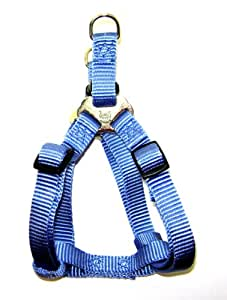 Hamilton 5/8-Inch x 12-20-Inches Adjustable Easy On Dog Harness, Berry Blue
