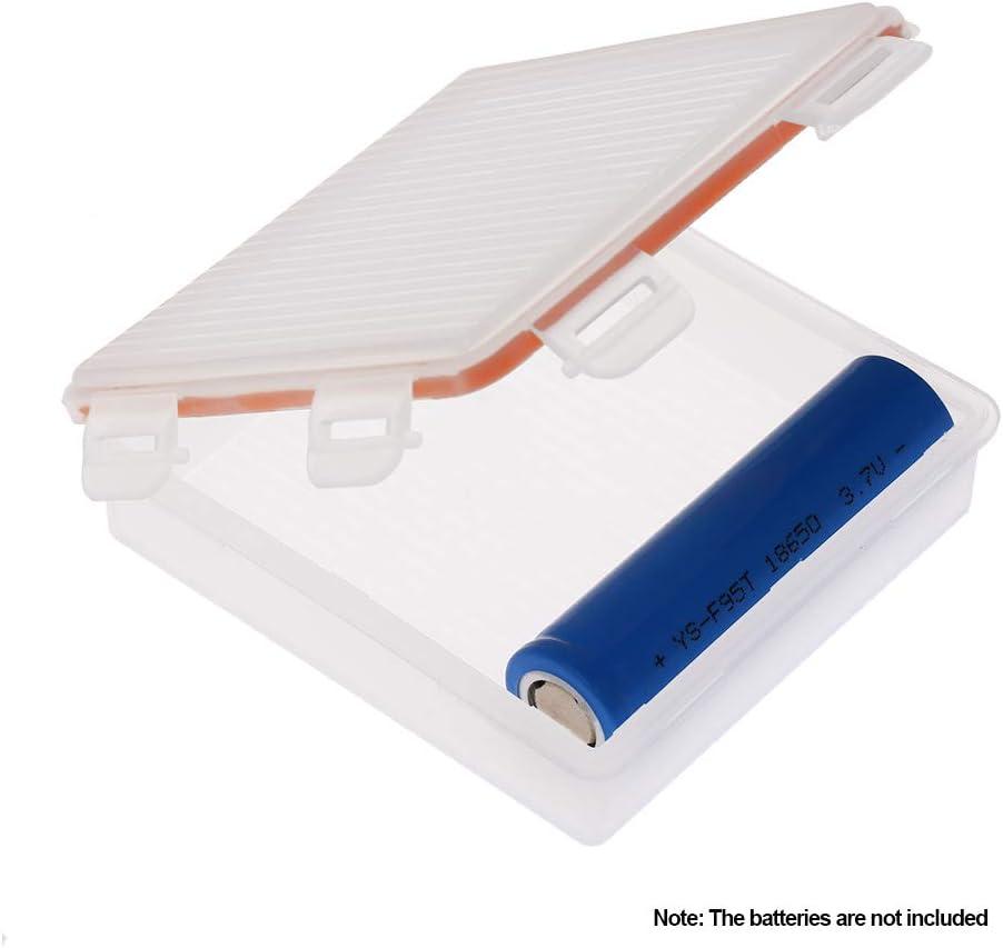 Gamogo Caja de Almacenamiento de batería a Prueba de Agua Soporte ...