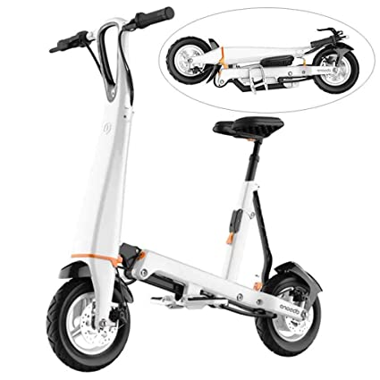 A&DW Mini Scooter eléctrico, Plegable y fácil de Transportar ...