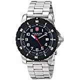 Victorinox Men's 241675 Analog Display Swiss Quartz Silver-ToneWatch