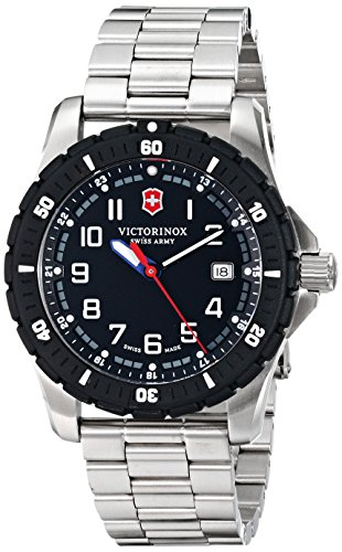 Victorinox Men's 241675 Analog Display Swiss Quartz (Marker Ss Band)