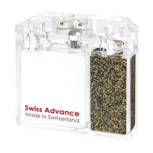 (Swiss-Spice Salt + Pepper Shaker)