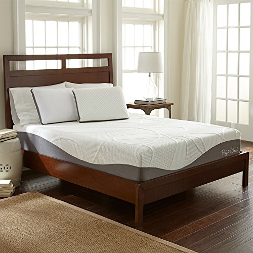 Perfect Cloud UltraPlush Gel-Max Memory Foam Mattress by (Queen) - 10-inches Tall - Featuring New Visco Gel Cool Design So You'll Sleep Comfortably All Night Visco Plush Mattress