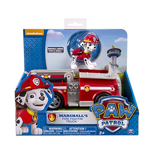 Paw Patrol Marshall's Fire Fightin' Truck, Vehicle and Figure - http://coolthings.us