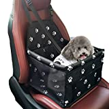 Best Dog Car Seats - Car Booster Seat for Dog and Cat, Folding Review