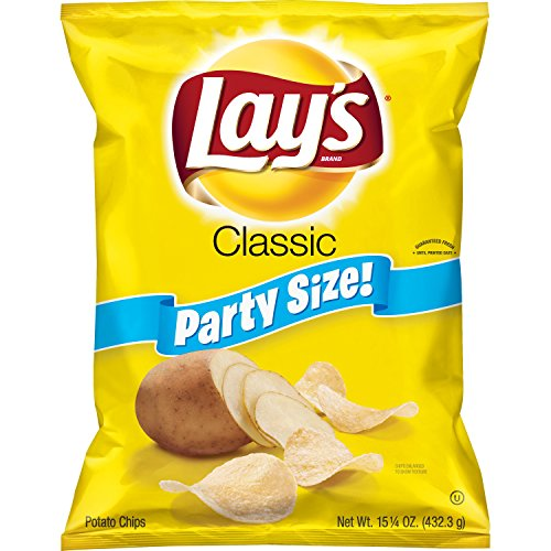 Lay's Classic Potato Chips, Party Size! (15.25 ()