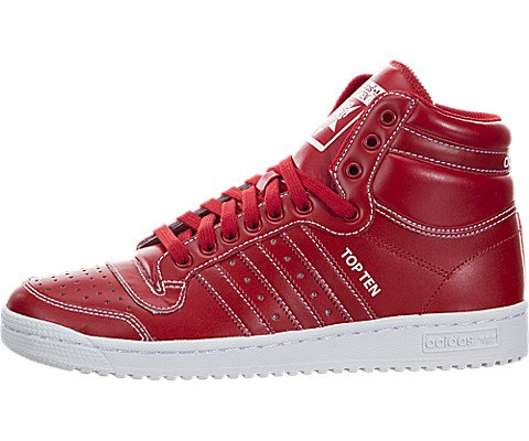 adidas Mens Top Ten Hi Scarlet F37589