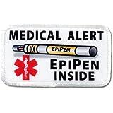 EPIPEN INSIDE Medical Alert Symbol Rectangle Sew-on Patch