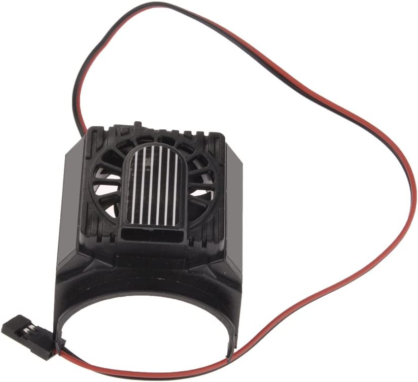 """VANKER High Performance Plastic Cooling Fan for Castle 1515 2200KV 1/8 Motors Fits on Motors with Outside Diameter Between 1-1/2 and 1-7/8"""""""
