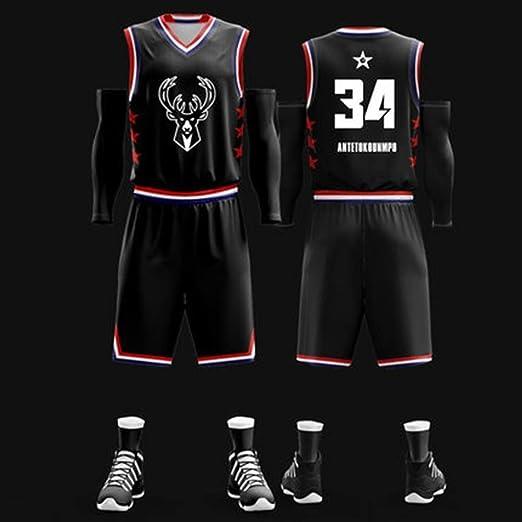 RENJUN Traje Jersey NBA All-Star de Baloncesto Estudiantes ...