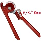 3 in 1 Pipe Tube Bender Lever 1/4'' 5/16'' 3/8'' Tubing Bending Tool 90 Degree Plumbing Tools Hand Tool