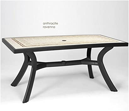 NARDI - Table rectangulaire Toscana 160: Amazon.fr: Jardin