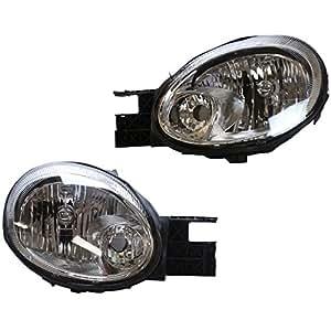 prime choice auto parts kapdg10092b1pr headlight pair automotive. Black Bedroom Furniture Sets. Home Design Ideas