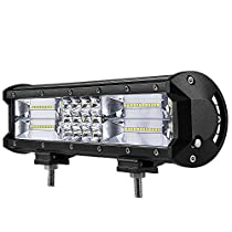 WEISIJI LED Light Bar,Triple Row 23inch Combo Beam LED Work Light Bar for Off Road Jeep ATV AWD SUV 4WD 4x4 Pickup (23inch 324W)
