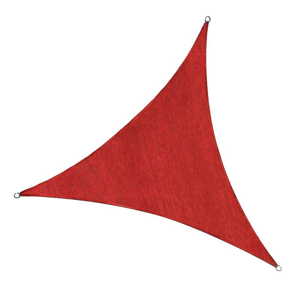 Shade Sails Triangle UV Block Sun Shade Protection for Patios Waterproof Outdoor Patio Garden by Shantan