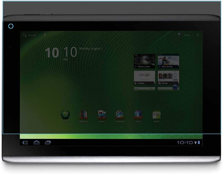 Puccy Privacy Screen Protector Film, Compatible with Acer ICONIA TAB A500 10.1