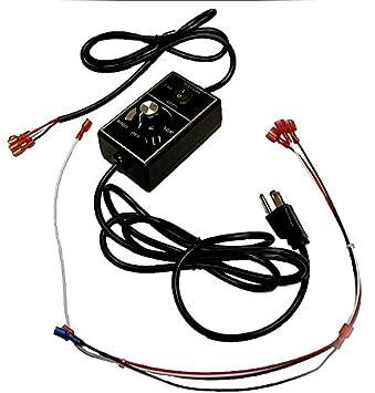 amazon com quadrafire blower control box and wire harness quadrafire blower control box and wire harness srv7000 194