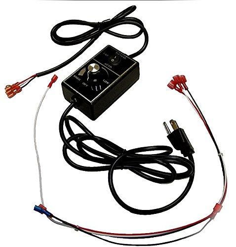 QuadraFire Blower Control Box and Wire Harness SRV7000-194