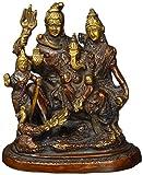 Statuestudio Hindu God Shiva Parivar Ganesha Parvati