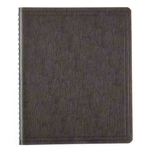 Recycled Cardboard Journal (BLUELINE EcoLogix 100% Recycled Wirebound Notebook, Black, 8.875