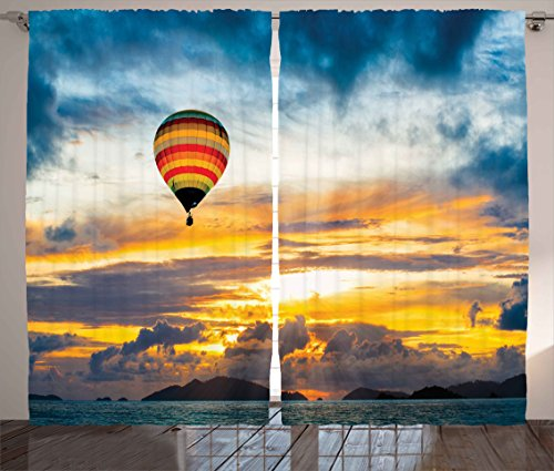 hot air balloon window curtains - 8