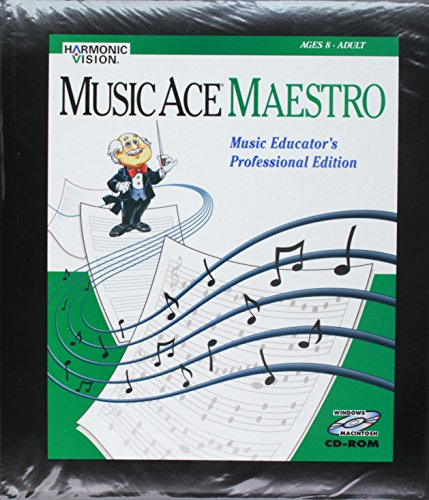 Harmonic Vision Music Ace Maestro Educator Edition - single computer license from Harmonic Vision
