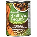 Campbell's Healthy Request Vegetable with Barley Soup, 540 ml
