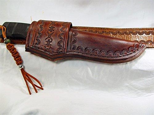 Sog Seal Pup custom leather cross draw sheath only
