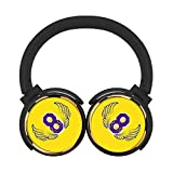 Wing 8 Adult's or Child's Fashion Headset High Fidelity Stereo Wireless Headphone With Picture Foldable Soft Memory Protein Ear Sleeve