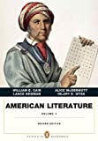 American Literature, Volume I (Penguin Academics Series), Chiasson, Daniel and McDermott, Alice, 0321838645