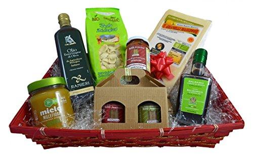 Parma (Italy) - Basket of Specialties Organic by Cesto Specialita' Gourmet Biologico