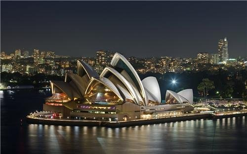 SYDNEY OPERA HOUSE GLOSSY POSTER PICTURE PHOTO australia music wales art nice (Opera House Sydney compare prices)