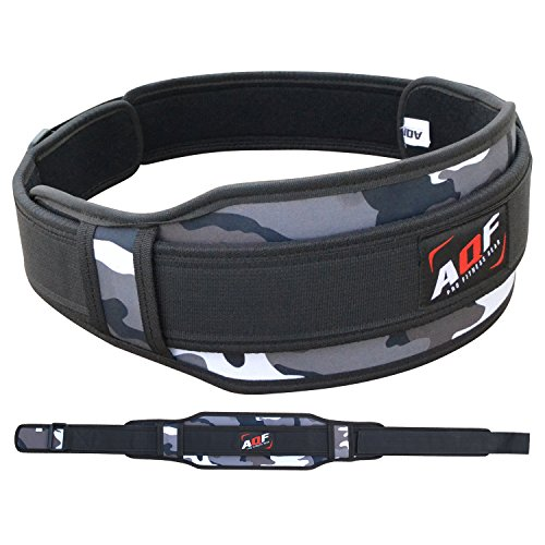 XXR Camo Neoprene Weight Lifting Belt Fitness Strengthen Training Free Straps