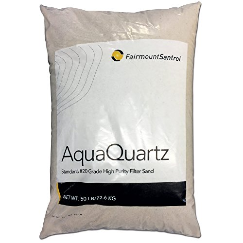 Fairmount Minerals Pool Filter Sand #20 Grade Silica Sand 50 Pounds