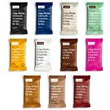 RxBar Real Food Protein Bars, ALL Flavors Variety Pack, 11 Flavors w/ NEW Chocolate Chip, Mixed Berry, and Peanut Butter Chocolate (Pack of 22)