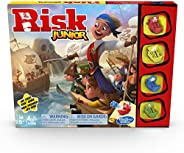Hasbro Gaming Risk Junior Game: Strategy Board Game; A Kid's Intro to The Classic Risk Game for Ages 5 and