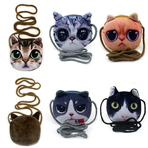 Crossbody For Coin Senoow Purse Bag Kids Cute Animal Printed Children Shoulder wYzq0w
