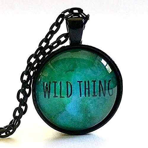 Wild Thing Gift | Wild Thing Necklace | Glass - Wild Thing Glasses