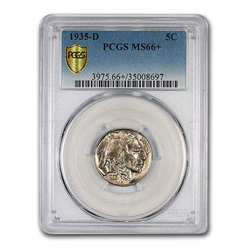 1935 D Buffalo Nickel MS-66+ PCGS Nickel MS-66 PCGS