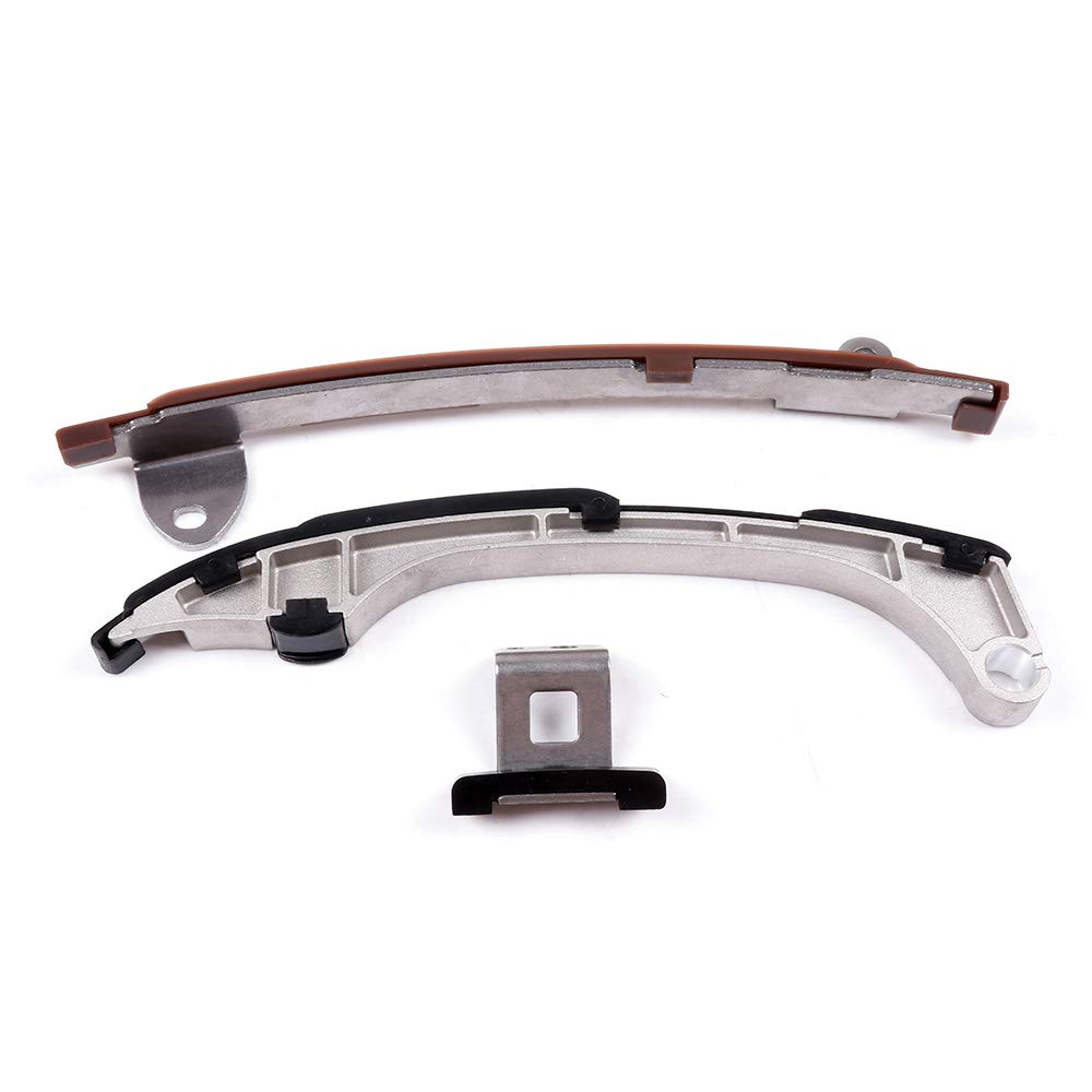 ECCPP 05224-2V Timing Chain Kit Tensioner Guide Rail Crank Gear fits for 10-14 Toyota Camry Avalon RAV4 VENZA 115126-5211-1430249031