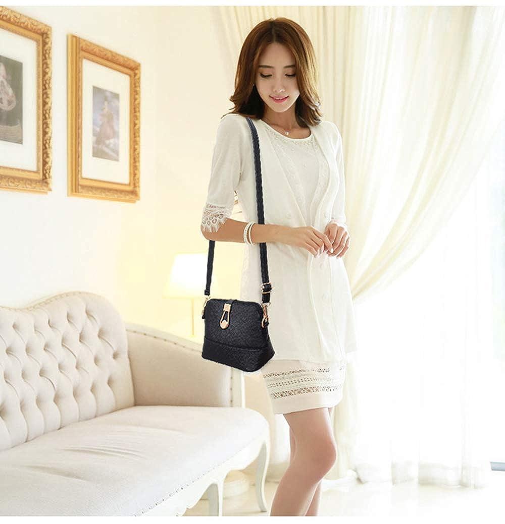 Womens Bag Fashion Fashion Shell Bag Simple Wild Shoulder Slung Ladies Mini Bag,Pink,S