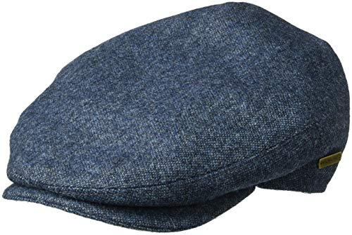 Kangol Men's British Peebles Flat Ivy Cap HAT, Indigo Marl, XL ()