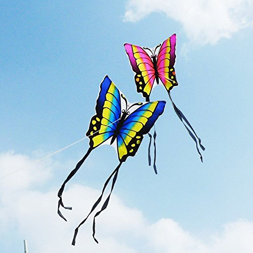 Bazaar Butterfly Kite Children Toy Outskirts Funny Game Easy Control Brid Eagle Kite Big Bazaar