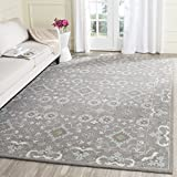 Safavieh Blossom Collection BLM218A Handmade Grey Premium Wool Area Rug (8' x 10')