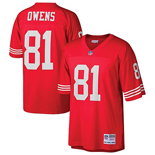 Mitchell & Ness San Francisco 49ers Terrell Owens Throwback Jersey (XX-Large)