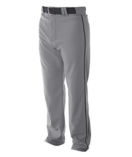 5f8db48724 A4 Youth Pro Style Piped Baggy Baseball Pants