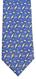 Vineyard Vines Men's Silk Tie. (Parrot & Palm/Royal)
